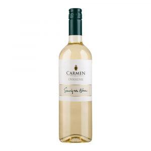 Botella de Vino Blanco Insigne Sauvignon Blanc - Carmen