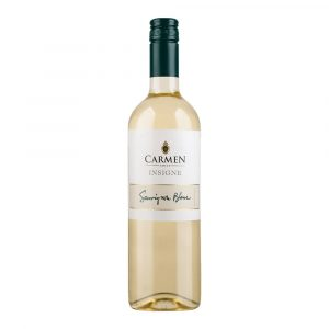 Vino Insigne Sauvignon Blanc marca Carmen