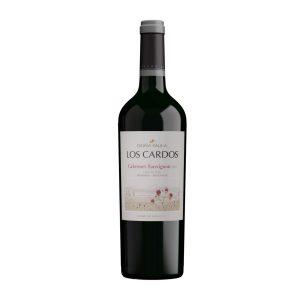 Botella de Vino Tinto Los Cardos - Cabernet Sauvignon - Argentino - Doña Paula