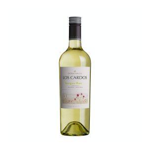 Vino Los Cardos Sauvignon blanc marca Doña Paula