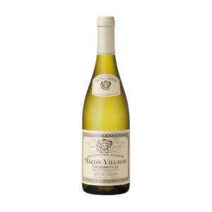 Botella de Vino Blanco - Macon Villages (Chardonnay) - Louis Jadot