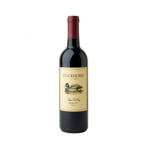 Vino Napa Valley Merlot marca Duckhorn