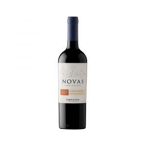 Botella de Vino Tinto Novas Gran Reserva Carmenere/Cabernet Sauvignon - Emiliana Organics