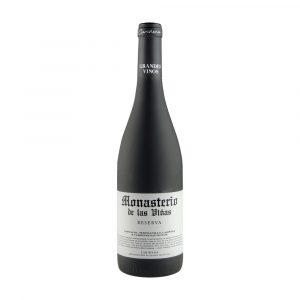 Botella de Vino Tinto Reserva - Monasterio de las Viñas