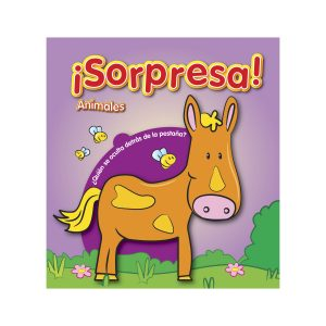 Libro con preguntas - Animales marca ¡Sorpresa!