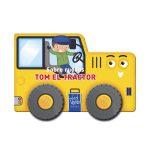 Libro sobre ruedas - Tom el tractor