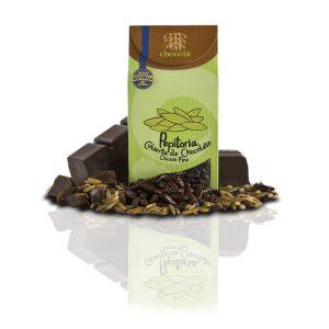 Pepitoria cubierta de chocolate oscuro fino (115g)