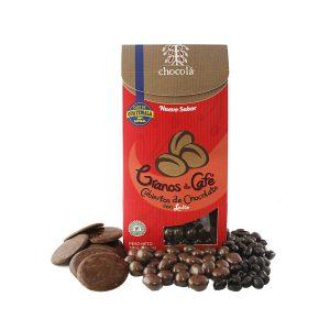Chocolá granos de café cubiertos de chocolate con leche (115g)