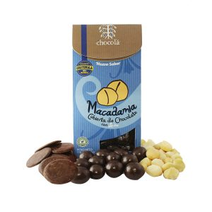 Chocolá macadamia cubierta de chocolate con leche (115g)