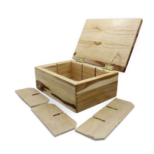 Caja Almacenadora de Madera