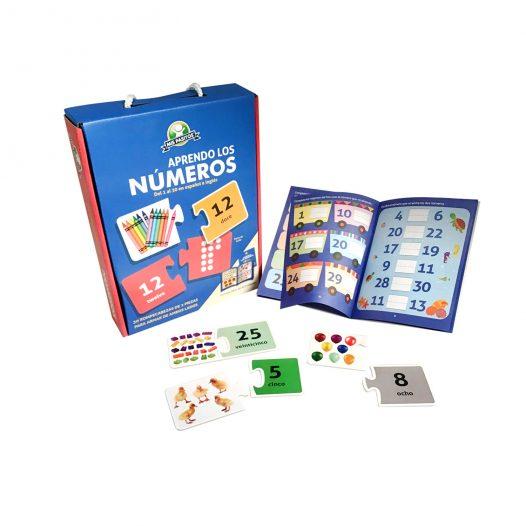Rompecabeza para niños «Aprendo Los Numeros» 30 Pzs marca Mis Pasitos