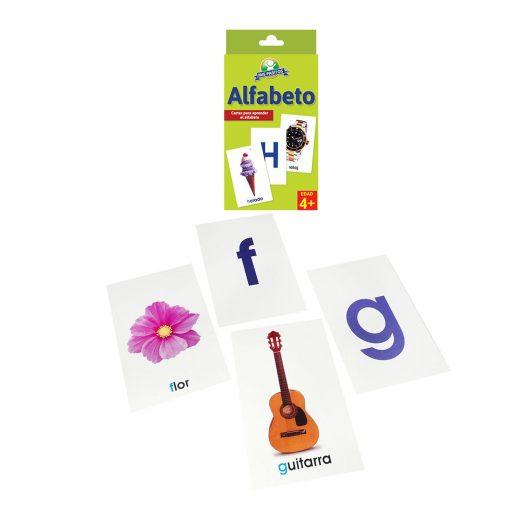 Juego para niños Cartas «El Alfabeto» Mis Pasitos