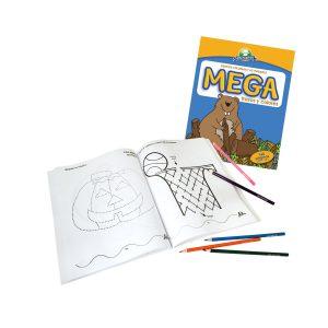 Libro de aprendizaje inicial - Trazos y colores MEGA