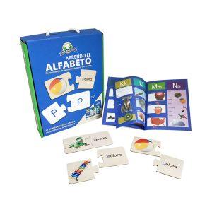 Rompecabeza para niños  «Aprendo El Alfabeto» 27 Pzs marca Mis Pasitos