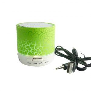 Bocina Pequeña Bluetooth Con LED Windtop