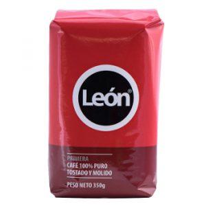 Café León Rojo Molido 350 gramos