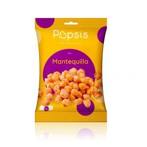 Poporopo  a medio reventar sabor mantequilla 90 g marca Popsis