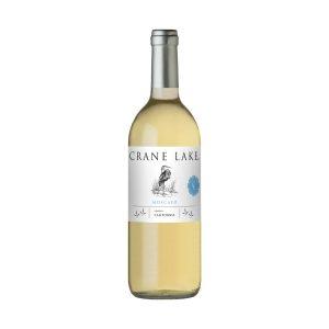 Botella de vino blanco Crane Lake Moscato 750ml.