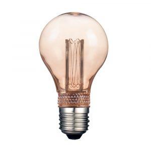 Lámpara Led Estilo Vintage Tecno Lite 2.3 Watts 127v Ambar 15,000h