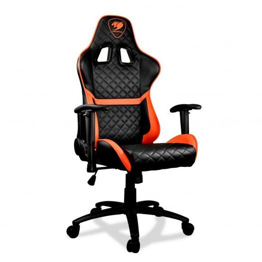 Preventa-Silla Gaming Armor One Negro con Naranja marca Cougar