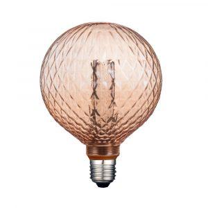 Lámpara Led Estilo Vintage Tecno Lite 3.5 Watts 127v Ambar Rombos 15,000h