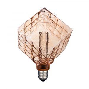 Lámpara Led Estilo Vintage Tecno Lite 3.5 Watts 127v Ambar 15,000h