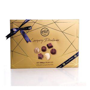 Caja de chocolate luxury praline 262 g marca ELIT
