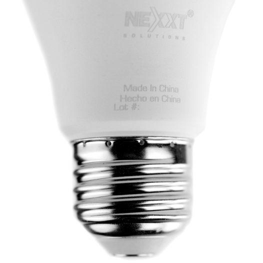 Bombilla inteligente LED Multicolor Nexxt Wi-Fi 110V - A19/E26