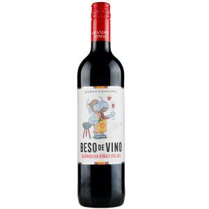 Botella de Vino Tinto Beso Del Vino  750 ML