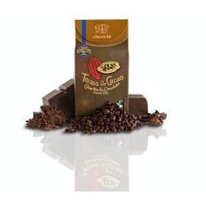 Trozos de Cacao cubiertos de chocolate Oscuro Fino (115g)