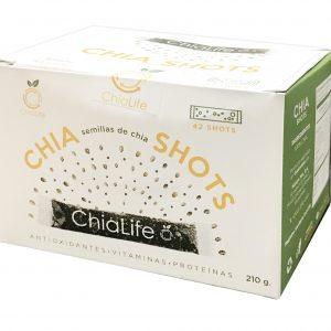 Semillas de Chia en Shots 210g Chia Life