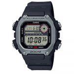 Reloj digital Casio 291H-1AVDF color negro