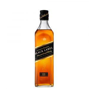 Johnnie Walker Black Label Blended scotch whisky 375 Ml