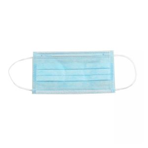 Caja de 10 Mascarillas Quirúrgicas Desechables de Dos Capas color Azul