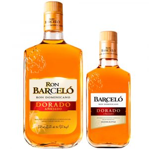 Ron Barcelo Dorado + 350 ML GRATIS