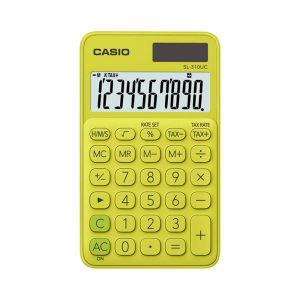 Calculadora Casio de bolsillo 130UC color Amarillo