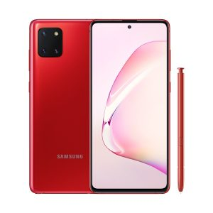 "Celular Samsung Galaxy Note 10 Lite 6GB RAM 128GB 6.7"" color Rojo (Aura Red)"
