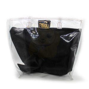 Bolsa Transparente con Bolsa Interior Negra