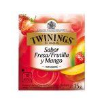 Twinings Té en Sobre Fresa y Mango (10 und)