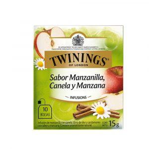 Twinings Té en Sobre Manzanilla, Manzana y Canela (10 und)