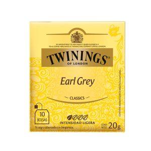 Twinings Té en Sobre Earl Grey (10 und)