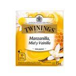 Twinings Té en Sobre Manzanilla, Miel y Vainilla (10 und)