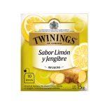 Twinings Té en Sobre Limon y Jengibre Caja (10 und)