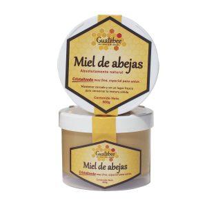 Miel de Abeja Cristalizada Natural 300g Guatebee
