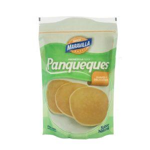 Premezla en bolsa para Panqueques sabor Natural 450gr Super Maravilla
