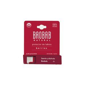 Protector de Labios Berries 4.25g Baobab Natural