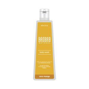 Jabón corporal Gel Coco Mango 650ml Baobab Natural