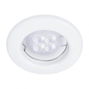 Empotrado Sin Lámpara Tecno Lite Mr16, 50 Watts Blanco Blanco