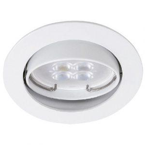 Empotrado Sin Lámpara Tecno Lite Mr16, 50 Watts Blanco