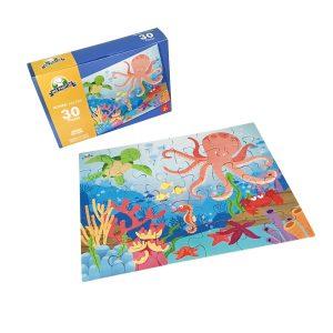 Rompecabeza para niños «Amigos del mar 30 pza» marca Mis pasitos